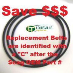 481460C Replacement Scag OEM Spec Belt - Replaces 481460 Scag OEM Belt