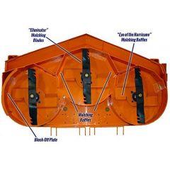 Scag 9265 52A Hurricane Mulching System