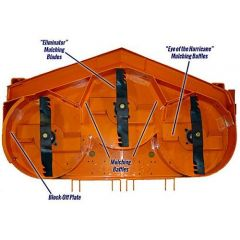 Scag 9267 72A Hurricane Mulching System
