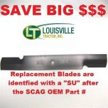 "Blade, Cutter 21"" Aftermarket Scag Mower Blades that are made to Scag OEM Specifications - Replaces 482879 Scag OEM Blade"