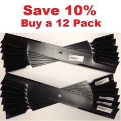 "12 pack of 48"" Scag Mower Deck Blade, Cutter 16.5"" Aftermarket Scag Mower Blades that are made to Scag OEM Specifications - Replaces 482877 Scag"