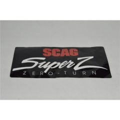 Scag 48859 Decal, Scag Super Z
