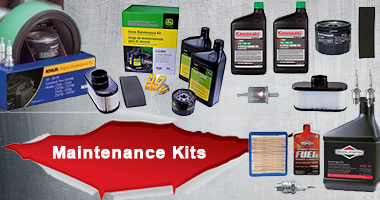 Tune up kits available from Kawasaki, Briggs, Kohler and more.