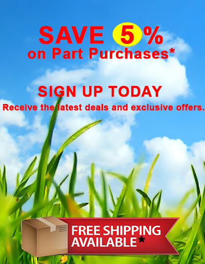 Sign up for Louisville Tractor's newsletter email to stay on top of our latest deals and exclusive special offers only available to subscibers.
