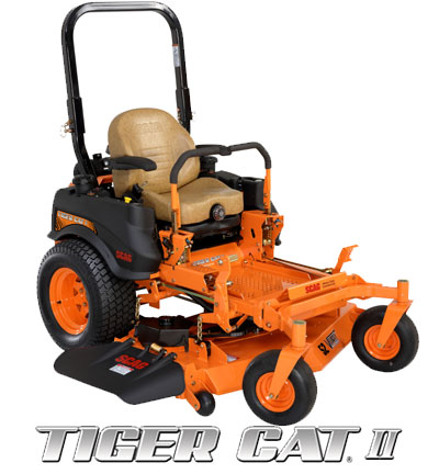 Find out more about the Scag Tiger Cat II. Info on Scag Tiger Cat Lawn Mowers, Parts and Accessories.