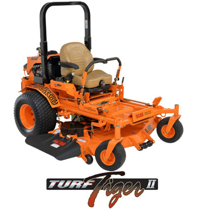Find out more about the Scag Turf Tiger II. Info on Turf Tiger Mowers, Parts and Accessories