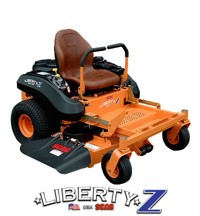Learn more about the Scag Liberty Z Mower. Info on Scag Liberty Z Mowers, Parts and Accessories.