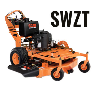 Learn more about the Scag SWZT Hydro Walk Behind Mower. Info on SWZT Lawn Mowers, Parts and Accessories.