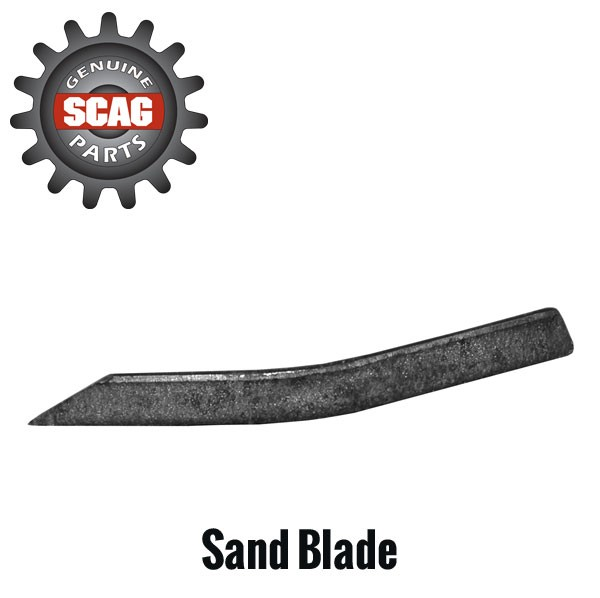 lawn mower blade for sand